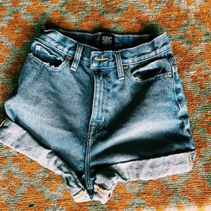High rise urban outfitters shorts